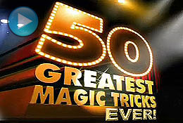 50 Greatest Magic Tricks Video 1